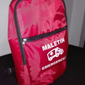 Maletín De Emergencias: Simulacros – Terremotos – Inundaciones – Incendios – Accidentes – etc.
